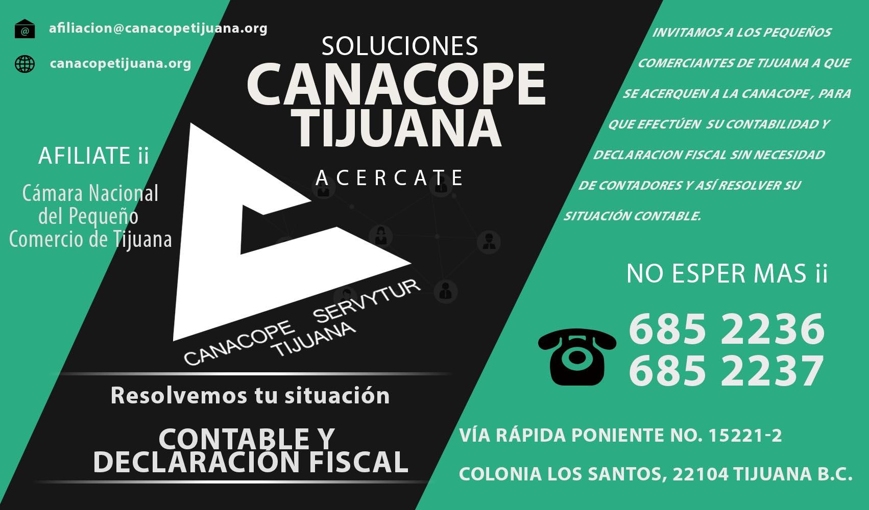 Canacope Tijuana -Cámara del Pequeño Comercio de Tijuana Tijuana