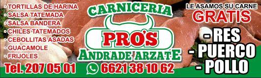 Carnicería Pros Andrade Arzate Hermosillo