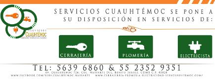 Foto de Cerrajero, Plomero y Electricista, Servicios Cuauhtemoc