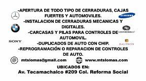 Cerrajeria Plomeria Electricidad Y Mas Miguel Hidalgo