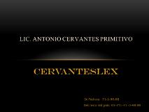 Foto de CERVANTESLEX: ABOGADOS EN PACHUCA