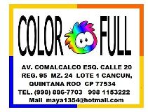 COLOR-FULL Cancún
