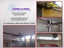 Foto de CONNER Aluminio Cancelería Cristal Ventanas Baños Domos Portones Automatizaciones Benito Juárez - Distrito Federal