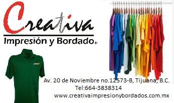 Creativa Impresión y Bordado - Tijuana 416ddfac45e88