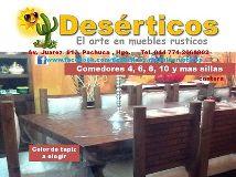 Foto de DESERTICOS el arte en muebles Rusticos