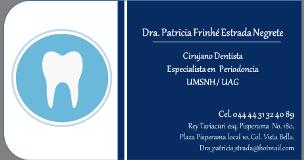 Dra. Patricia Frinhé Estrada Negrete Morelia