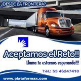 Fletes Camiones Trailer Consolidado Mexico Quintana Roo Playa del Carmen