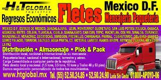 Fletes, Mudanzas Y Regresos Economicos Ht Global Miguel Hidalgo