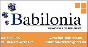 Inmobiliaria Babilonia Pachuca