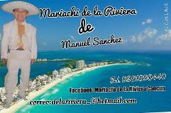 mariachi de la Rivera Cancún
