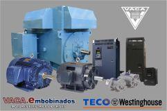 Motores Eléctricos Vaca - Teco Westinghouse - Guadalajara
