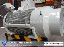 Fotos de Motores Eléctricos Vaca - Teco Westinghouse -