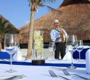 Foto de Saxofonista Profesional Luiggi de Caro para Bodas y Eventos Especiales Cancún