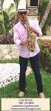 Foto de Saxofonista Profesional Luiggi de Caro para Bodas y Eventos Especiales