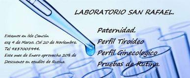 PRUEBA DE PATERNIDAD Chetumal