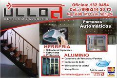 Puertas Automaticas Herreria Y Aluminio Ulloa Cancún