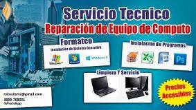 Reparacion y Mantenimiento de equipo de computo y Redes inalambricas Cancún