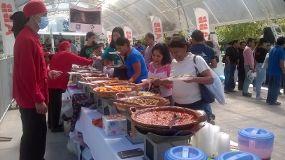 Foto de taquiza de cazuelas en Puebla Puebla