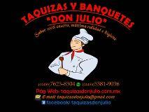 Taquizas y Banquetes Don Julio Cuauhtémoc - Distrito Federal